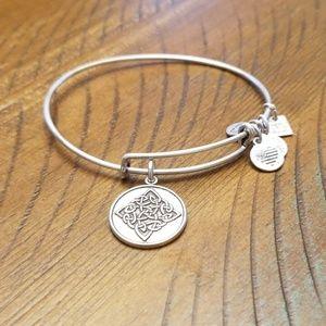 Alex and Ani bracelet- Celtic symbol